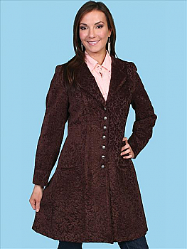 Scully Velvet Old West Coat. (7 days to ship). #740099CHO