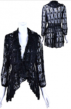 Sexy Lace Jacket Top. #BC359