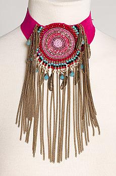 Southwestern Style Beaded Choker. [Limited Edition]. #NCK1001-17