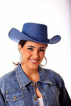 True Denim Hat. #1215