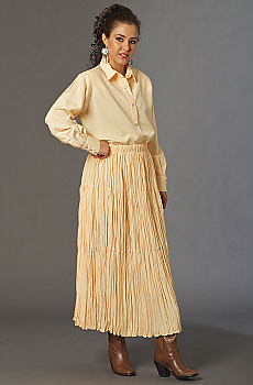 4b1383f9ba63 Banana color Outfit.  AE141 Outfit