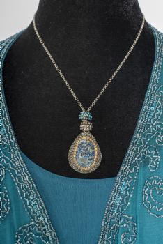 One of a Kind Druzy Handmade Necklace #101320 DNEK