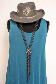 Western Gray Sparkly Studded Hat #101320 HAT