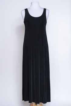 Elegant Black Long Sleeveless Dress #101620 DRJ (7 days to ship)