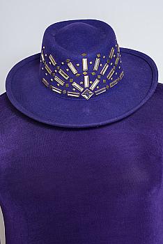 Sparkly Purple Hat #110320
